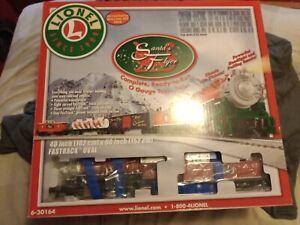 Lionel Santa's Flyer Ready to Run O-Gauge Train Set  6-30164