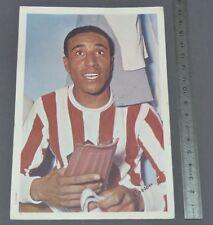 RARE PHOTO FOOTBALL MIROIR SPRINT 1961 LUCIEN COSSOU AS MONACO ASM LOUIS II