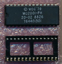 Apple Lisa 2/10(XL) WD2001 Data Encryption Chip with Socket - MINT!