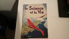 Revue la Science et la Vie Pâques 1942. Avion furtif.