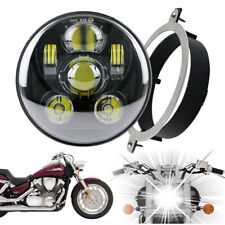 For Honda 02-08 VTX 1800 /1300 5.75 inch LED Motorcycle Headlight with Bracket
