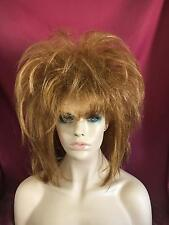 SIN CITY WIGS SHORT STRAIGHT TEASED BOB VOLUME CHOPPY LAYERS SEXY STYLE RED HAIR