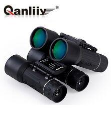 US 30X40 Qanliiy Dual Focus Zoom HD Green Optics Lens Travel Binocular Telescope