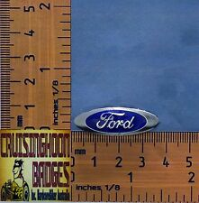 Ford Oval Thunderbird Galaxie Fairlane   Quality Metal Lapel Pin / Badge