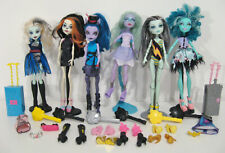Monster High Doll bundle joblot of 6 plus some extra clothes and shoes