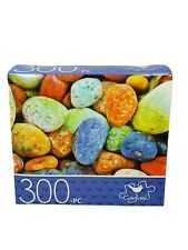 300 Piece Jigsaw Puzzle Colorful Sea Pebbles - Cardinal Factory Sealed!!