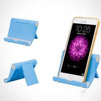 Universal Foldable Desktop Desk Stand Holder Mount For Cell Phone iPhone Tablet