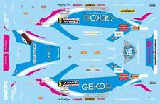 DECALS 1/43 SUBARU IMPREZA WRC -#5 - DEBACKERE -RALLYE DE WALLONIE 2011 - D43376