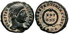 CONSTANTINE THE GREAT (324 AD) Very Rare Follis. Heraclea #PA 8812