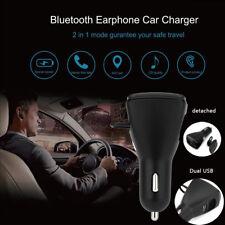 C26S Mini Car Charger Smart Wireless Bluetooth Stereo Headset Headphone Earphone