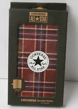 Converse Canvas Booklet Wallet for iphone 6 (Tartan Plaid)