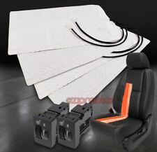 2X HEATED SEAT HEATER PAD W/SWITCH TOYOTA 4RUNNER CELICA MAXTIX RAV4 YARIS VENZA