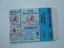 1964 World Series GM 5 Bob Gibson 2-1 Win/10 IP/13K Cardinals Top Yankees Nr Mt