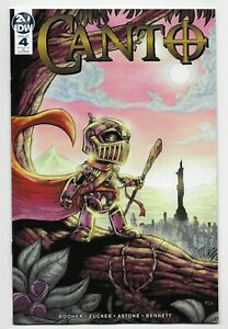 Canto #4 IDW Comic 2019 Sevy 1:10 Variant Cover 1st Printing Booher Zucker VF