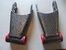 DJM Suspension Universal Rear Shackles Hot Rod Truck Lower Powder Coat R