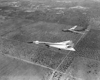 XB-70 / XB-70A VALKYRIE & B-52 APPROACH 8x10 SILVER HALIDE PHOTO PRINT