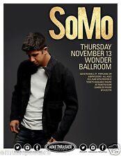 SOMO 2014 PORTLAND CONCERT TOUR POSTER