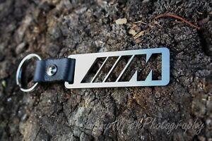 M power keychain Motorsport stainless steel keyring for BMW  M1 M2 M3 M4 M5 M6