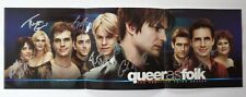 [RARE] AUTOGRAPHED - 'Queer As Folk' (Cast Signed) Poster + COA