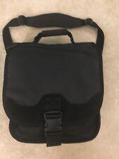 Kensington Saddlebag Laptop Tablet Notebook Black Messenger Backpack Sling Bag