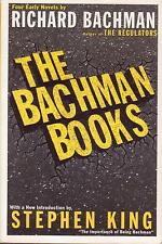 STEPHEN KING - THE BACHMAN BOOKS - RAGE THE LONG WALK ROADWORK THE RUNNING MAN