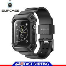 SUPCASE UBPro For Apple Watch 3 42mm Full-Body Rugged Protector Case Cover Strap