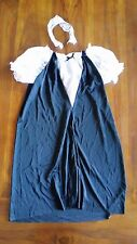 Women's costume Black White Maid Dress with headband BNWOT free post E19