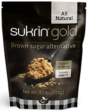 Sukrin Gold All Natural Stevia édulcorant sucre brun Alternative 500 g