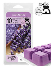 10 x Arome Pur Wax Melts For Oil Burner Fresh Lavender Fragrance  New Free P&P