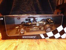 Minichamps 1:18 ronnie peterson lotus ford 79 F1 race car 1978