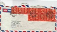 hong kong  1974  stamps cover  ref r14815