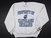 Vtg Property Of Cleveland Indians MLB 1995 Russell Athletic Sweatshirt XL USA