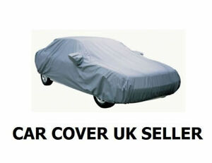 MG MGF 1996-2004 WATERPROOF CAR COVER UV PROTECTION MIRROR POCKETS SIZE A GREY