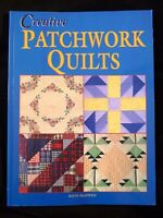 Creative Patchwork Quilts by Kate McEwen 16 Quilts to Make - SALE NEW IMPERFECT