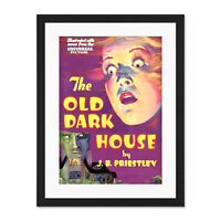 Magazine Cover 1932 The Old Dark House Film Framed Wall Art Print 18X24 In