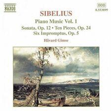Havard Gimse, J. Sibelius - Piano Music 1 [New CD]