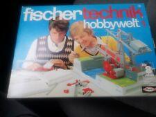 fischertechnik hobbywelt 1 Baukasten.. NEU.. unbenutzt