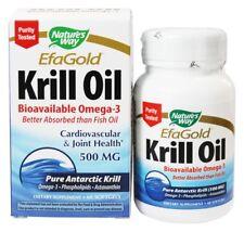 Nature's Way - EfaGold Krill Oil 500 mg, 60 Softgels