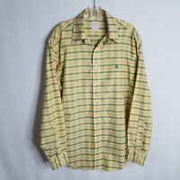 Brooks Brothers 346 Mens Plaid Button Front L/S Casual Shirt Size Medium SD215