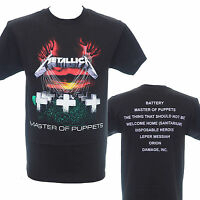 METALLICA - Master Of Puppets - Official T-Shirt - Heavy Metal - New S M L XL