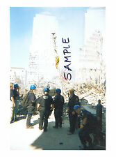 World Trade Center WTC 9/11 Destruction & Rescue FDNY NYPD 3 PHOTOS Never Seen 3