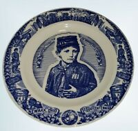 SESQUICENTENNIAL NEWARK OHIO JOHNNY CLEM CIVIL WAR SOUVENIR PLATE COLLECTIBLE