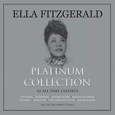 Ella Fitzgerald The Platinum Album 3 White Vinyl Record LPs 180g Gatefold Jazz