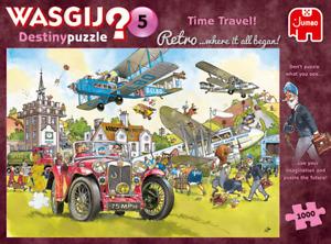 1000 Piece Jigsaw Puzzle Wasgij Retro Destiny 5 Time Travel Jumbo