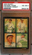 1935 Goudey 4 in 1 Baseball Card #7B Pittsburgh Pirates Pie Traynor PSA 4 VGEX