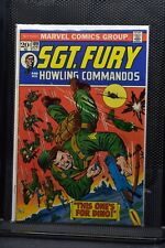 Sgt Fury and His Howling Commandos #109 Marvel Comic 1973 Stan Lee Ayers 8.0