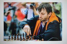 Gm Alexander grischtschuk signed foto autógrafo Autograph ip1 Grandmaster Chess