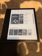 """Amazon Kindle Oasis E-reader 9th Gen 7"""" 3g 4gLTE WiFi 32gb - Graphite No Ads"""