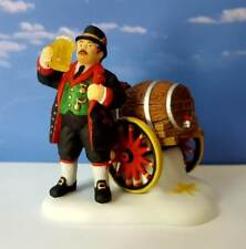 Dept 56 Alpine Village Tap The First Barrel Oktoberfest, Octoberfest, Beer, Brew