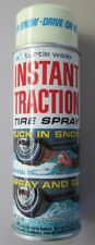 Vintage can Instant Traction Tire spray by Turtle Wax NOS 60's / 70's snow & ice